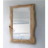Smartwoods Shape of Nature Classic Framed lustro wiszące 100x80 cm lite drewno dębowe