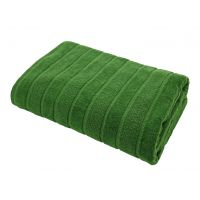 Texpol Mateo ręcznik łazienkowy 50x70 cm bawełna 460 g zieleń butelkowa