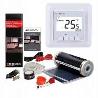 Termofol TF folia grzewcza 3 m2 220W/m2 z akcesoriami i termoregulatorem TF-H5 białym TF305.220.H5.30