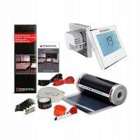 Termofol TF folia grzewcza 4 m2 220W/m2 z akcesoriami i termoregulatorem TF-H1 białym TF310.220.H1.40