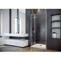 Besco Viva drzwi prysznicowe 100x195 cm lewe szkło przezroczyste DVL-100-195C