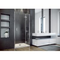 Besco Viva drzwi prysznicowe 100x195 cm prawe szkło przezroczyste DVP-100-195C