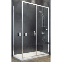 Besco Duo Slide ścianka prysznicowa 80 cm boczna szkło przezroczyste PDS-80