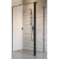 Radaway Nes Black KDS II ścianka prysznicowa 80 cm boczna szkło przezroczyste 10040080-54-01