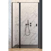 Radaway Nes Black DWJ II drzwi prysznicowe 100 cm lewe czarny/szkło przezroczyste 10036100-54-01L