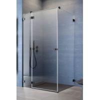 Radaway Essenza Pro Black KDJ drzwi prysznicowe 110 cm lewe czarny/szkło przezroczyste 10097110-54-01L