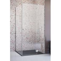 Radaway Torrenta KDJ kabina prysznicowa 80 prawa x 80 cm chrom/szkło przezroczyste 132212-01-01R