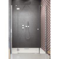 Radaway Torrenta DWJS drzwi prysznicowe 160 cm wnękowe lewe szkło przezroczyste 320812-01-01L/320343-01-01