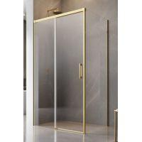 Radaway Idea Gold KDJ drzwi prysznicowe 120 cm lewe złoty/szkło przezroczyste 387042-09-01L
