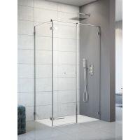 Radaway Arta KDS II drzwi prysznicowe 100 cm ze ścianką stałą prawe szkło przezroczyste 386521-03-01L/386103-03-01