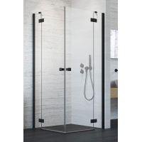 Radaway Essenza New Black KDD drzwi prysznicowe 80 cm lewe szkło przezroczyste 385061-54-01L
