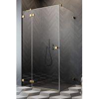 Radaway Essenza Pro Gold KDJ drzwi prysznicowe 100 cm lewe złoty/szkło przezroczyste 10097100-09-01L