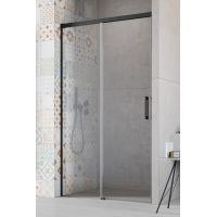 Radaway Idea Black DWJ drzwi prysznicowe 120 cm wnękowe lewe szkło przezroczyste 387016-54-01L