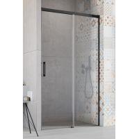 Radaway Idea Black DWJ drzwi prysznicowe 140 cm wnękowe prawe szkło przezroczyste 387018-54-01R