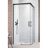 Radaway Idea Black KDD drzwi prysznicowe 90 cm lewe szkło przezroczyste 387060-54-01L