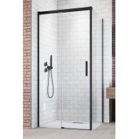 Radaway Idea Black KDJ ścianka prysznicowa 80 cm boczna prawa szkło przezroczyste 387051-54-01R