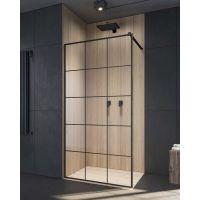 Radaway Modo New Black II Factory Walk-In ścianka prysznicowa 110 cm szkło factory 389114-54-55