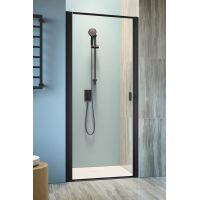 Radaway Nes Black DWJ I drzwi prysznicowe 90 cm lewe szkło Frame 10026090-54-56L