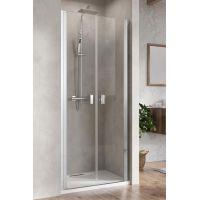 Radaway Nes DWD I drzwi prysznicowe dwudrzwiowe 70 cm wnękowe szkło przezroczyste 10027070-01-01