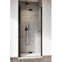 Radaway Nes Black DWB drzwi prysznicowe 90 cm lewe czarny/szkło przezroczyste 10029090-54-01L