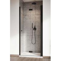 Radaway Nes Black DWB drzwi prysznicowe 90 cm prawe czarny/szkło przezroczyste 10029090-54-01R