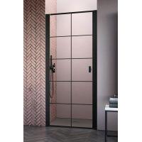 Radaway Nes Black DWJ I drzwi prysznicowe 100 cm lewe szkło Factory 10026100-54-55L