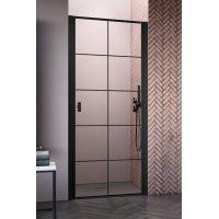 Radaway Nes Black DWJ I drzwi prysznicowe 80 cm prawe szkło Factory 10026080-54-55R
