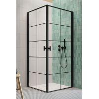 Radaway Nes Black KDD I drzwi prysznicowe 80 cm lewe szkło Factory 10021080-54-55L