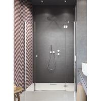 Radaway Torrenta DWJS drzwi prysznicowe 150 cm prawe szkło przezroczyste 320712-01-01R/320343-01-01