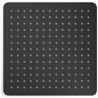 Excellent Slim deszczownica 20x20 cm kwadratowa czarny mat AREX.3022BL