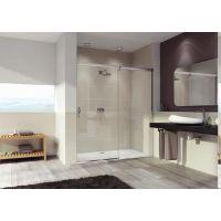 Hüppe Aura Elegance 4-kąt drzwi prysznicowe 130 cm prawe szkło przezroczyste 401505.087.322