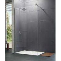 Hüppe Design pure 4-kąt ścianka prysznicowa 140 cm boczna wolnostojąca szkło przezroczyste 8P1111.087.322