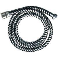 Invena Biflex wąż prysznicowy 150 cm chrom/czarny AW-30-J04