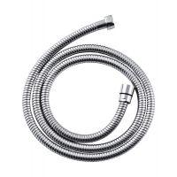Invena wąż prysznicowy 125 cm stalowy rozciągliwy chrom AW-42-125