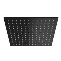 Kohlman Experience Black deszczownica 30 cm kwadratowa czarny mat Q30EB