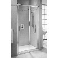 Koło Geo 6 drzwi prysznicowe 110 cm wnękowe część 2/2 szkło przezroczyste GDRS11222003B