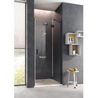 Kermi Osia OS SFR drzwi prysznicowe 120 cm prawe profile czarne OSSFR120203PK