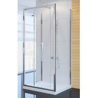 New Trendy Alta kabina prysznicowa 80 cm kwadratowa szkło przezroczyste K-0444