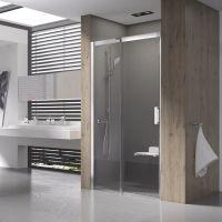 Ravak Matrix MSD2-120 L drzwi prysznicowe 120 cm przesuwne lewe polerowane aluminium/transparent 0WLG0C00Z1
