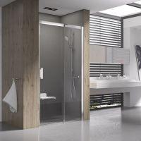 Ravak Matrix MSD2-100 R drzwi prysznicowe 100 cm przesuwne prawe satyna/transparent 0WPA0U00Z1