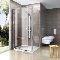 Ravak Pivot PPS-100 ścianka prysznicowa 100 cm stała biel/transparent 90GA0100Z1