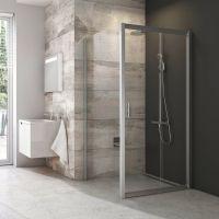 Ravak Blix BLPS-80 ścianka prysznicowa 80 cm stała polerowane aluminium/transparent 9BH40C00Z1