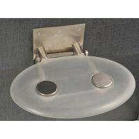 Ravak Ovo-P siedzisko prysznicowe przezroczyste B8F0000000
