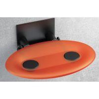 Ravak Ovo-P siedzisko prysznicowe pomarańczowe B8F0000044