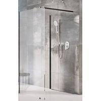 Ravak Corner ścianka prysznicowa Walk-In 110x80 cm czarny/transparent GW1CD4300Z1
