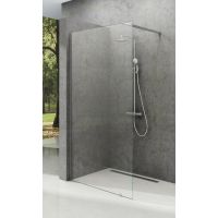 Ravak Walk-In Wall ścianka prysznicowa 60 cm wolnostojąca aluminium/szkło przezroczyste GW9W00C00Z1