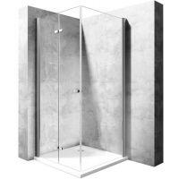Rea Best drzwi prysznicowe 120 cm szkło przezroczyste REA-K1307