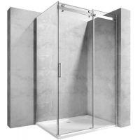 Rea Nixon-2 ścianka prysznicowa 90 cm szkło przezroczyste REA-K5011
