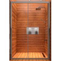 Rea Slide N drzwi prysznicowe 120 cm wnękowe szkło przezroczyste REA-K0259