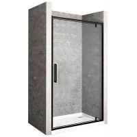 Rea Rapid Swing drzwi prysznicowe 80 cm wnękowe szkło przezroczyste REA-K6408